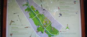 Bild 2: Übersichtsplan Naturerlebnispfad