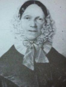 Seine Ehefrau Caroline, genannt Charlotte von Gagern.