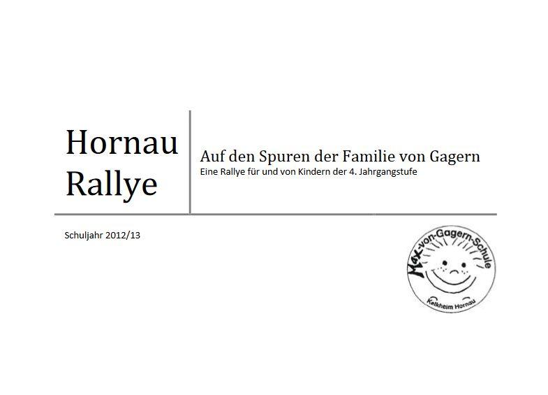 Hornau-Rallye