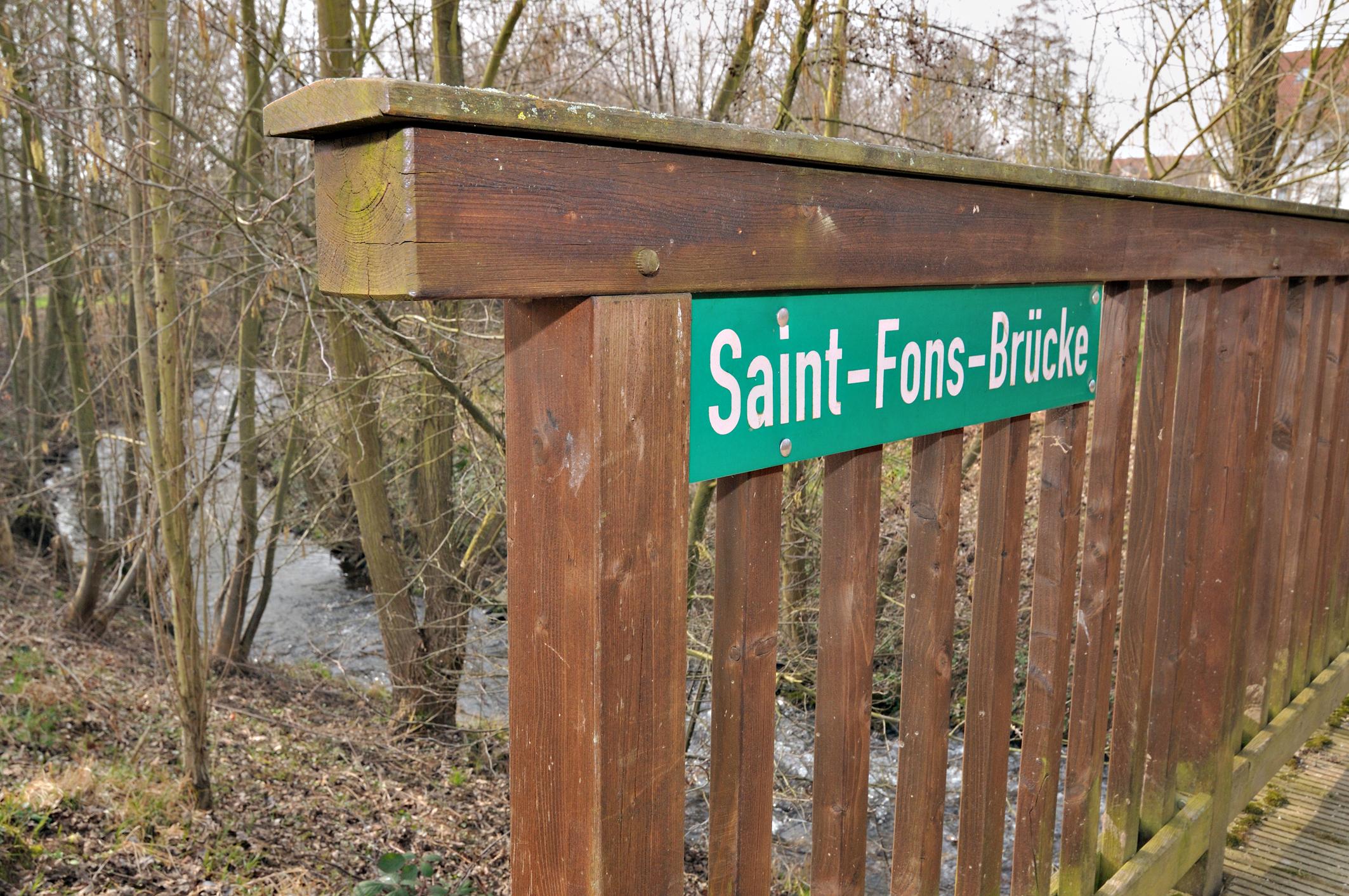 Saint-Fons-Brücke