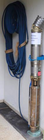 Bild 8: Ersatzpumpe für Brunnen