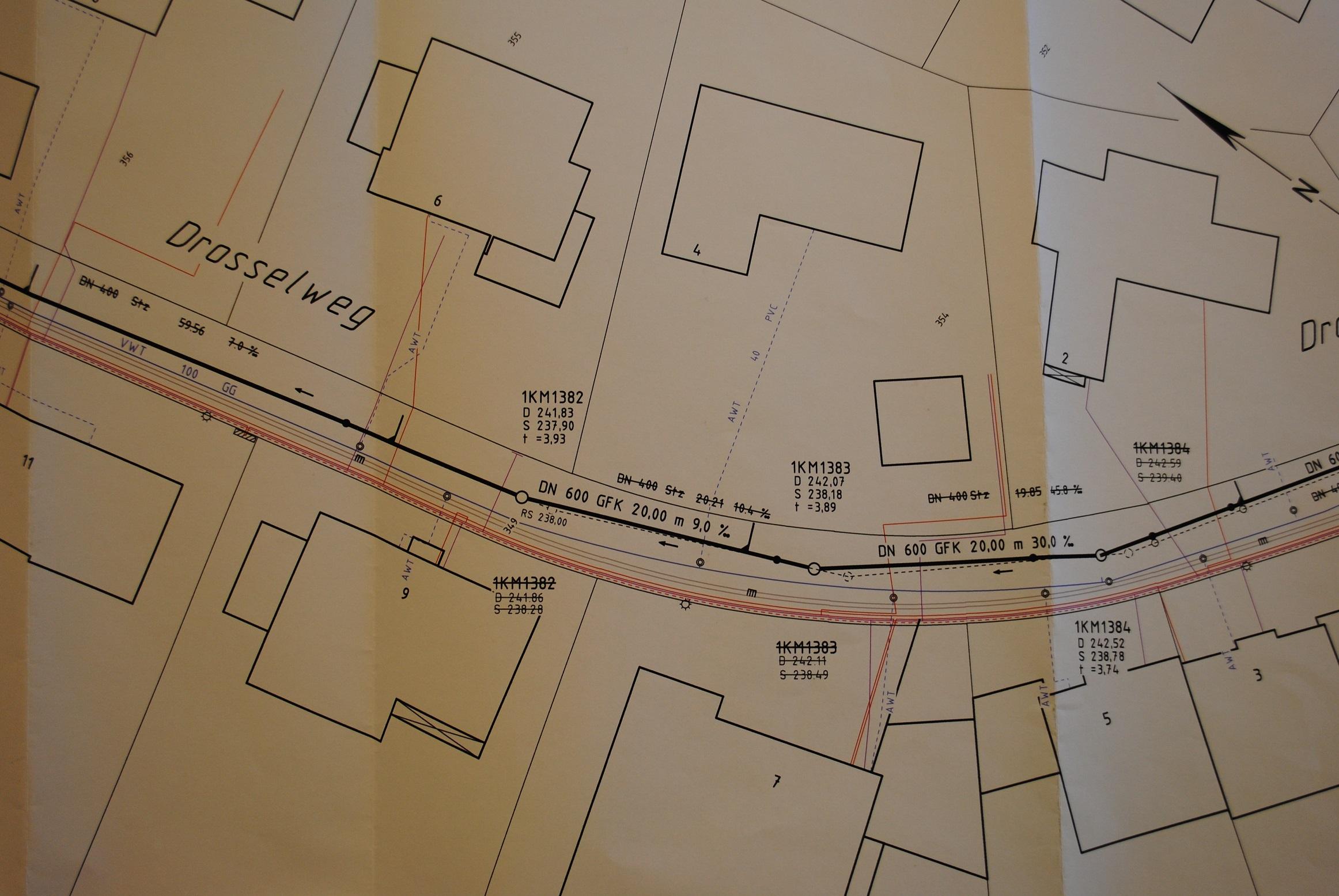 Bild 6: Beispiel Kanalsystem im Drosselweg